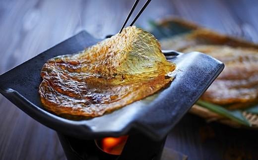 15. ふぐ味醂干しと耐熱瓦焼きセット