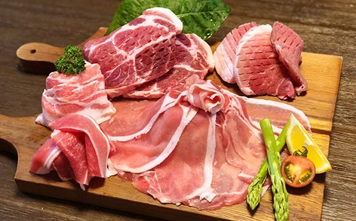 極上の豚肉 食べ尽くし5種盛