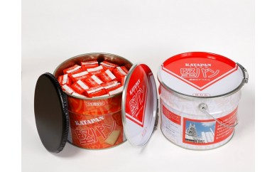 A06-36 北九州名物お菓子 スピナ 保存用堅パン(スチール缶入)