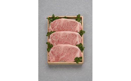 FY18-073 佐藤牛肉店 厳選牝牛 山形牛サーロインステーキ 200g×3枚