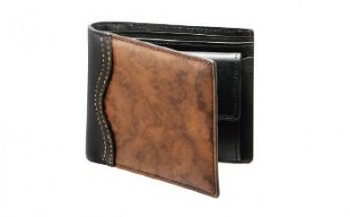 木の折り財布 ナットバール