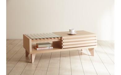 アローズ 110リビングテーブル (2色対応)