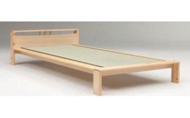 やまなみヒノキ畳ベッド(セミダブルサイズ)