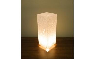 アクリル行灯 Lサイズ 名尾和紙使用 楮繊維入り落水紙 LED電球