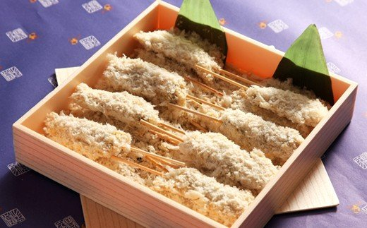 A)宝家謹製 アサリの串揚げ(箱入り)