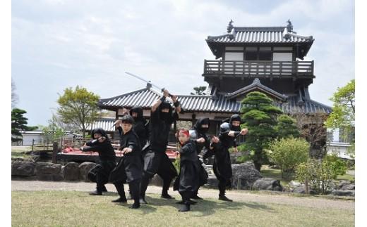 【99-12】忍者体験+池田城主と写真撮影会(池田忍者甲賀衆)