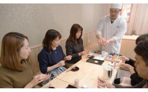 T-03 伝統ある堺の和菓子作り体験