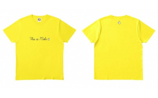 A-190   This is MIKI ファンクラブ Tシャツ(ペア)