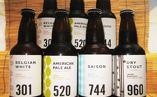 560.石見地方の素材が詰まった地ビール「石見麦酒」(7本×6回コース)