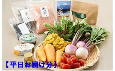 【月間70セット限定】沼津のやさいセレクトショップ・REFSの物語のある野菜と極みのローカルグルメ(平日お届け分)