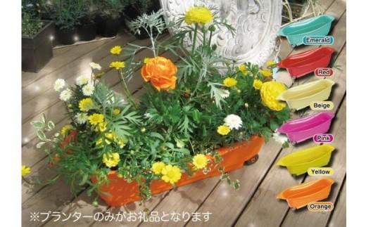 葉っぱの形をしたプランター「コロコノハ」2個セット 色:エメラルド