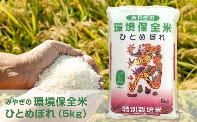 環境保全米 ひとめぼれ 5kg(5kg×1袋)【29年産】