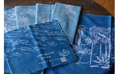 日本最古の染色技法「正藍冷染」 手ぬぐい