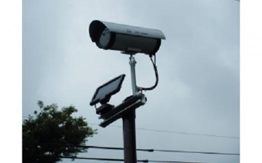 防犯威嚇カメラ(取り付け簡単、防犯対策に)3m