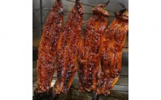備長炭で焼く鰻の蒲焼き2匹、肝焼きセット