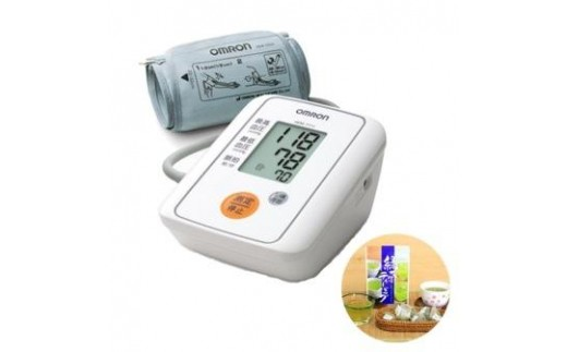 オムロン上腕式デジタル自動血圧計(HEM-7111)