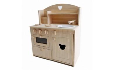 木製おままごとキッチン(小)