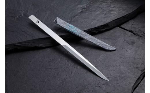 D072 ペーパーナイフ(こぎん刺し鞘付)