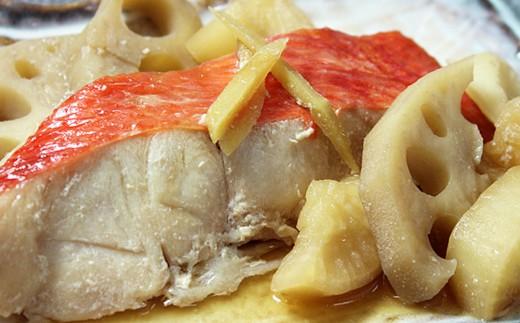 レンジで簡単!閖上海鮮煮魚セット