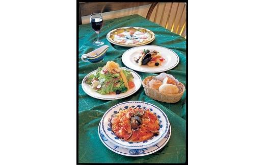 〔B-22〕イタリア料理ジョイア・ミーア&パン香房ベル・フルールお食事・お買物券
