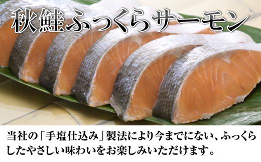 [№5723-0233]秋鮭ふっくらサーモン【15切れ入り1050g】