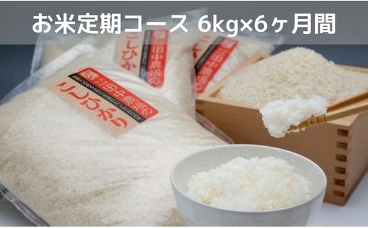 """Y080 """"土づくりの恵み"""" つやっつやの特別栽培米お届けコース(6ヶ月)"""