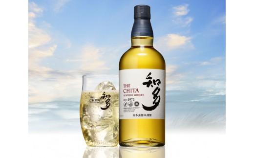 No.041 サントリーウイスキー「知多」とグラスのセット