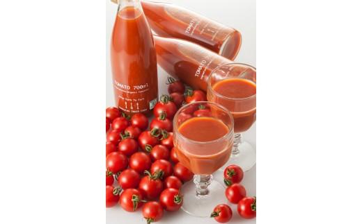 D101 有機イナゾートマト 3kgと有機トマトジュース 4本