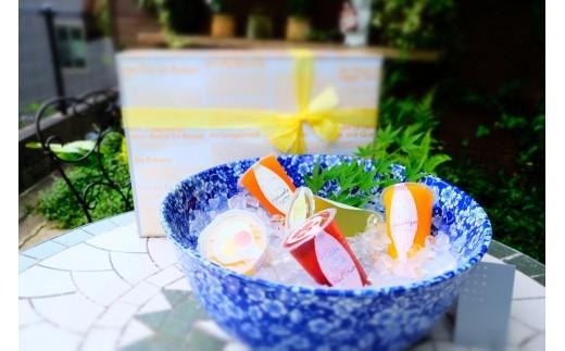 この夏の贈り物に 果肉がゴロゴロ入ったフルーツゼリーセット【期間限定】