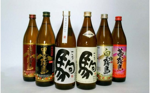 MK-3501_霧島酒造・柳田酒造 芋・麦いちおしセット