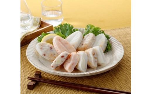笹かまぼこ真空包装の調理イメージ