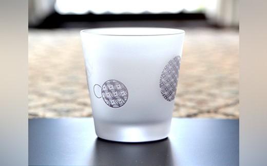 KR012 香蘭社 色絵丸紋(紫)・タンブラー