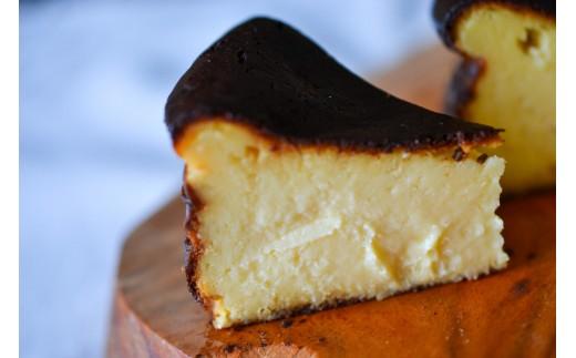 V-12◆白と黒のチーズケーキセット