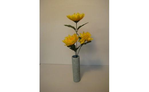 244 ふくいブルー花瓶(小)壁掛け(木箱入り)