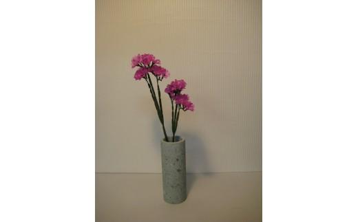 245 ふくいブルー花瓶(中)(木箱入り)