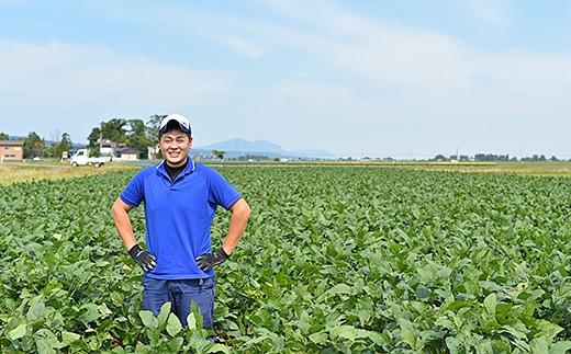 長岡産枝豆【1.5kg×6回お届け】食べつくし定期コース