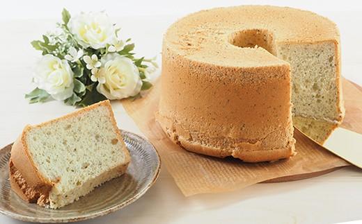 ◇富津の海苔とチーズのシフォンケーキ