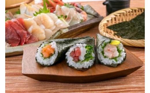 みんなで楽しく手巻き寿司パーティーを♪
