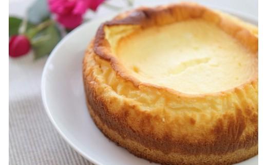 A-93 農村カフェの自然卵チーズケーキ