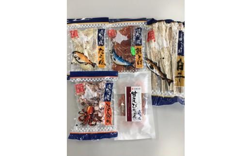 [B30-018]増毛港町市場人気珍味セット