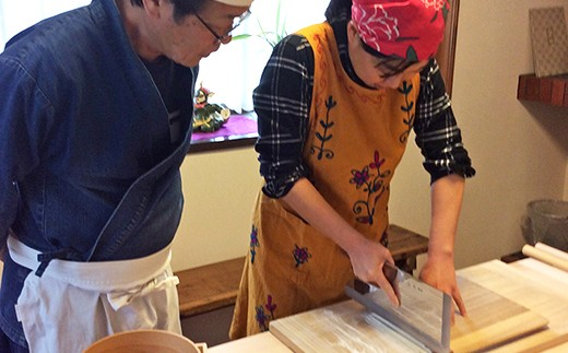 ☆手打ち蕎麦処が教える!本格蕎麦打ち体験