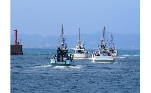 体験!沖釣り×イセエビ漁ウォッチング