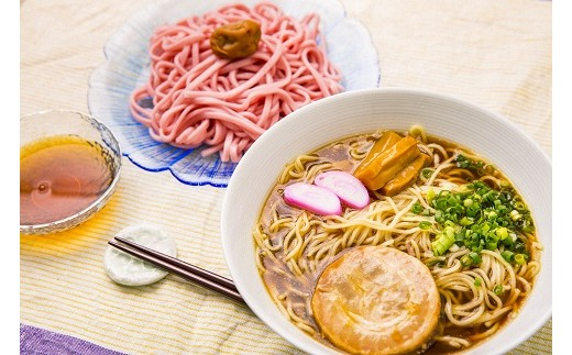 29 和歌山ラーメン&梅うどんセット