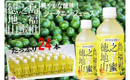 126 ~野生のみかんの美味しさ~徳之島シークニンジュース(24本)