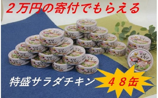 【B-043】サラダチキン缶詰 48缶セット