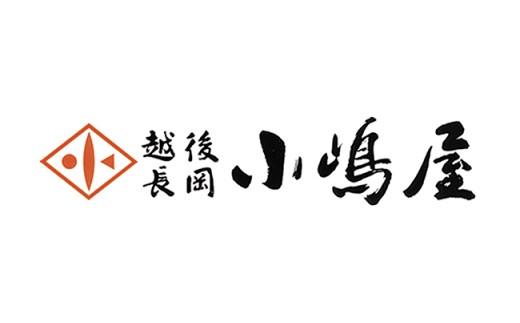 越後長岡小嶋屋 商品券6000円分(500円×12枚)