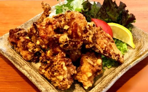 【四国一小さな町の食事処】土佐はちきん地鶏のから揚げ300g