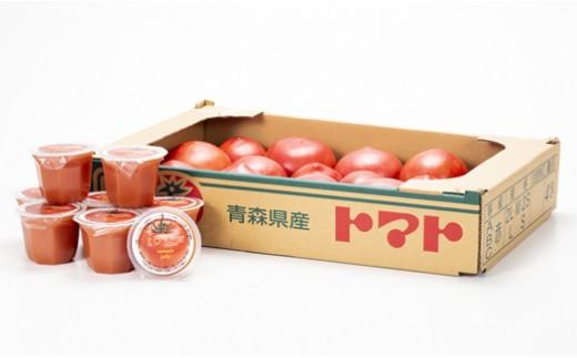 【№02402-0001】  【七戸産】   トマト & I ♥七戸 トマトゼリー 詰合せ