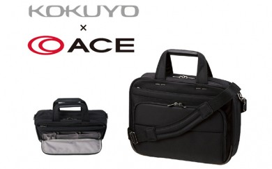 [№5809-0868]エース × コクヨ ビジネスバッグ PRONARD K-style 手提げタイプ 通勤用 Mサイズ 黒 鞄