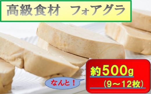 【E-013】フォアグラ(9~12枚)約500g